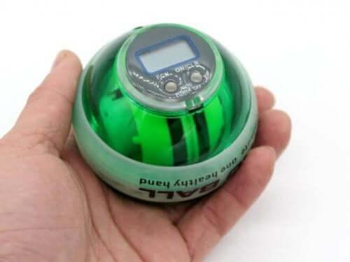 Powerball med gyroskop.