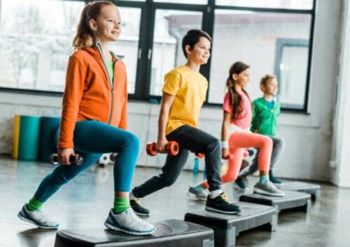 Funksjonell trening for barn: Nøkler som bør vurderes