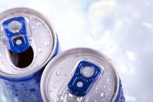Bivirkningene av å drikke energidrikker