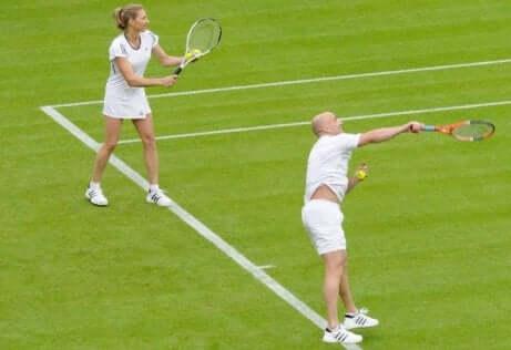 Steffi Graf og Andrea Agassi.