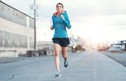 Løping kan ha noen store fordeler for kropp og sinn