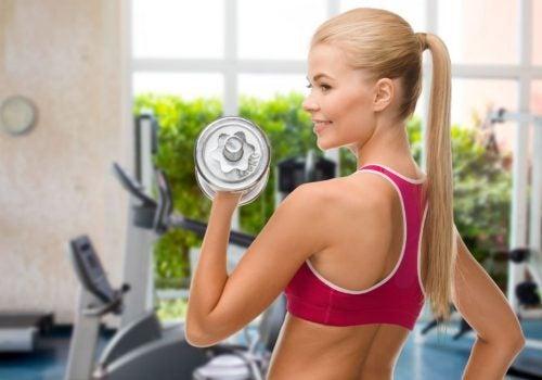 Losse gewichten voor thuis fitnessen