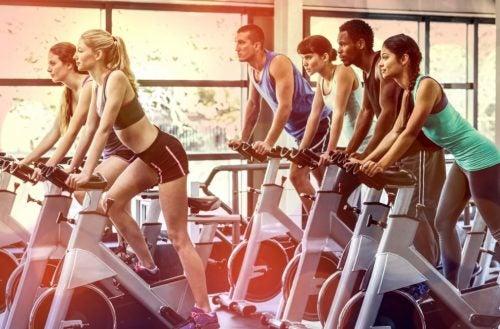 Spiergroei stimuleren indoor cycling