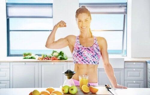De voordelen van gezonde voeding samen met beweging