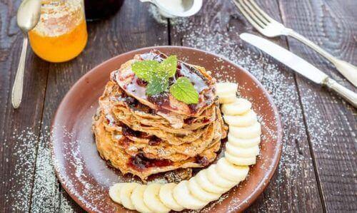 Recepten voor pannenkoeken van havermout
