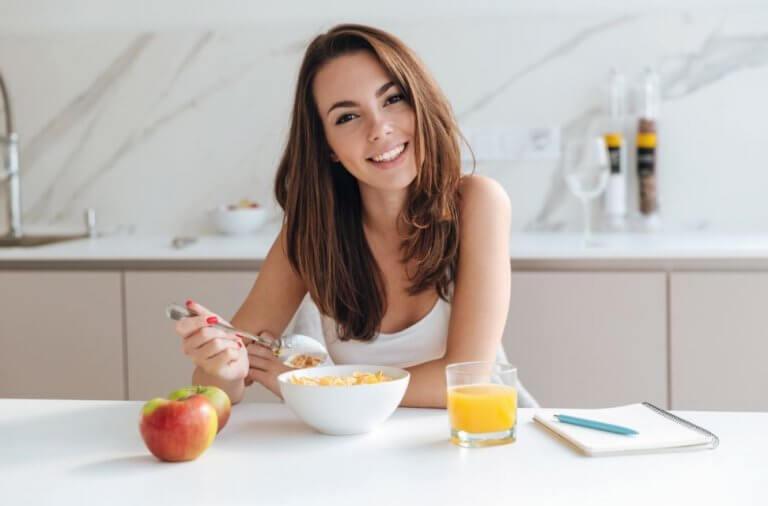 Het ontbijt overslaan