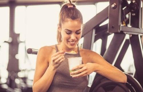 Wat kun je het beste eten na een work-out?