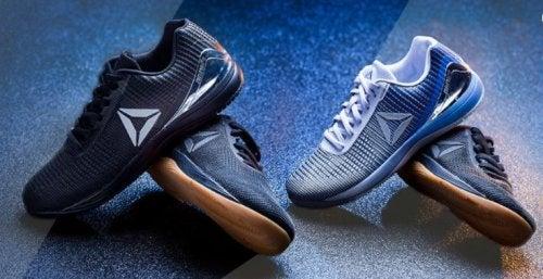 Twee paar Reebok schoenen voor CrossFit
