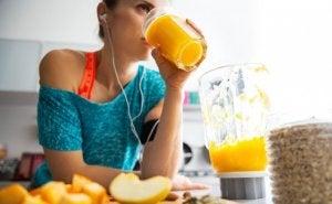 Vers sinaasappelsap