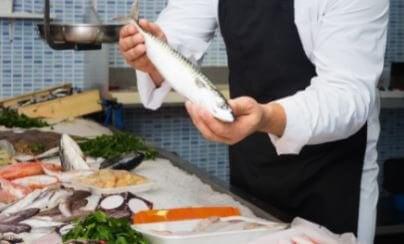 Heerlijk voedsel dat rijk is aan omega 3-vetzuren