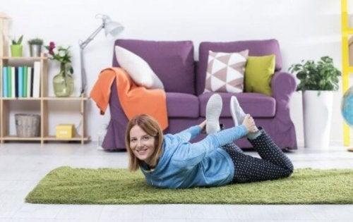 Thuis trainen met behulp van huishoudelijke artikelen
