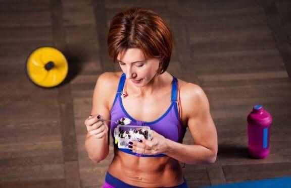 Goed eten na het sporten