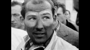 Stirling Moss na een race