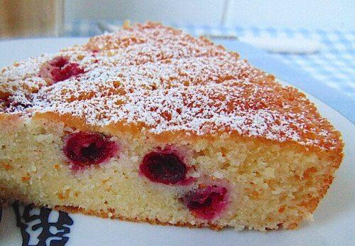 Cranberrycake voordelen van cranberry's