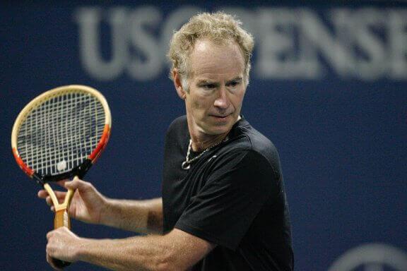 De langste tenniswedstrijd met Mc Enroe