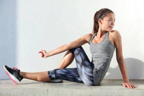 Beste stretch-oefeningen voor strak gespannen heupflexoren