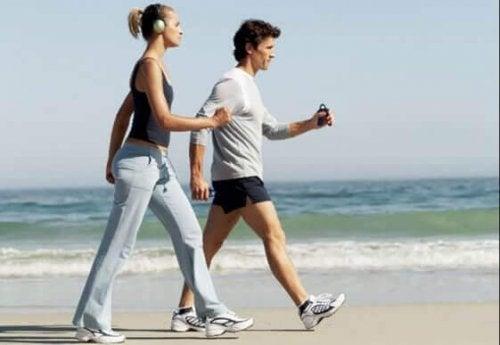basisprincipes van power walking