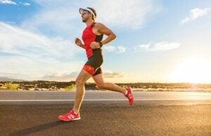 Geïrriteerde tepels tijdens het hardlopen