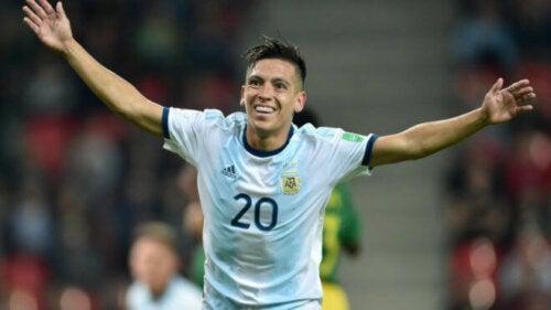 Ezequiel Barco is een voetballer