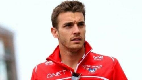 Ongelukken in de formule 1 Jules Bianchi