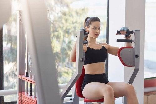 Klassieke hypertrofie-work-out voor sterke spieren