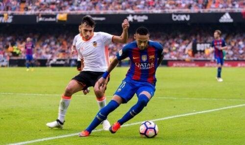 FC Barcelona in actie