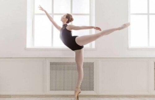 Houding van klassiek ballet
