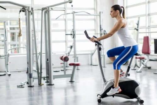Trainen op de hometrainer is goed voor je lichaam
