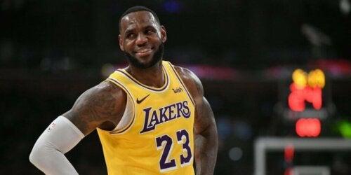 LeBron James, een moderne basketbalspeler