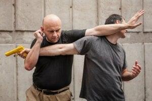 Vechtkunst als zelfverdediging