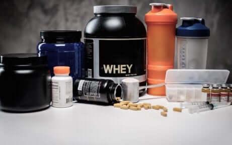 Eiwitten en voedingssupplementen