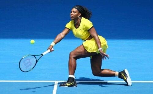 Tennisster Serena Williams is niet een van de best betaalde atleten ter wereld