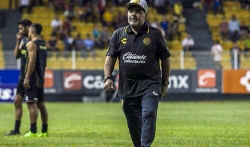 Diego Maradona als coach