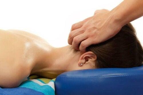 Een massage is goed voor het lichaam