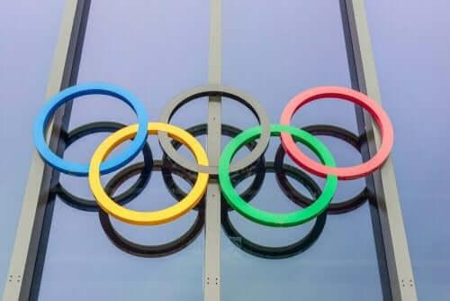 De ringen van de Olympische Spelen