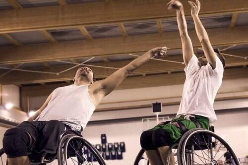 Boccia is onderdeel van de paralympische spelen