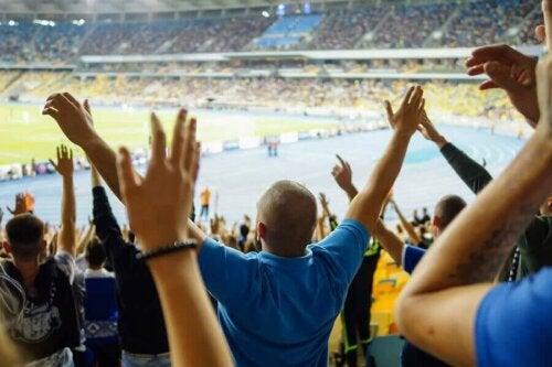 Racisme bij een voetbalwedstrijd