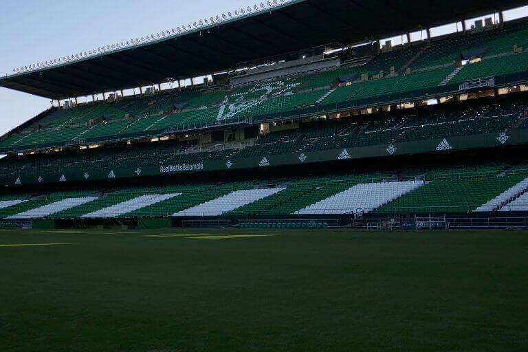 Dit stadion is een van de grootste stadions