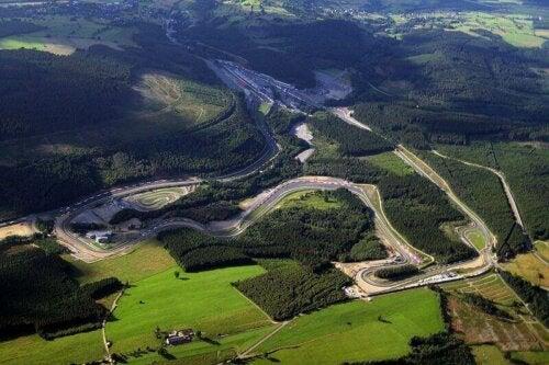 Een van de beste Formule 1-circuits