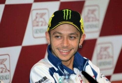 Valentino Rossi is een van de beste Europese atleten