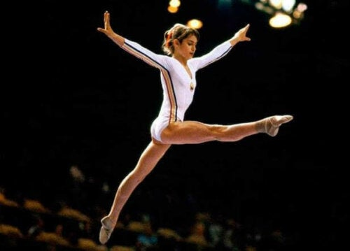 Nadia Comaneci is een van de beste Europese atleten