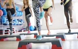 step, ćwiczenia