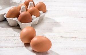 Jajka - produkty budujące mięśnie