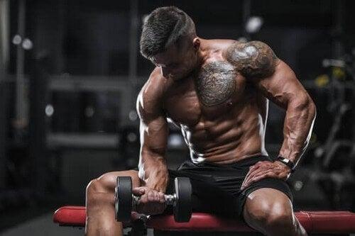 Bicep curl – jak poprawnie opracowywać biceps?