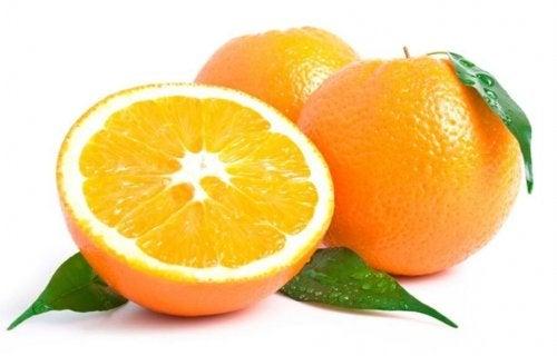 Pomarańcze zawierają pektyny