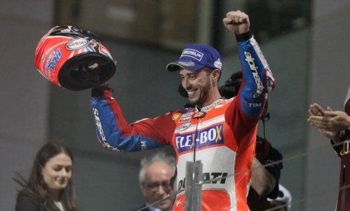 Mistrzostwa świata MotoGP - szczęśliwy zawodnik