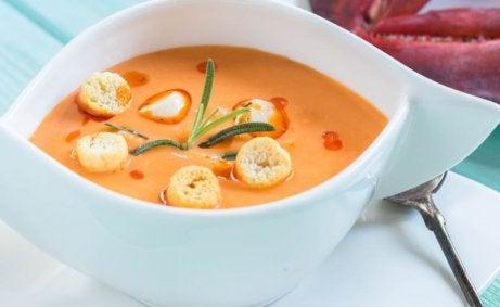 menu świąteczne - zupa krem