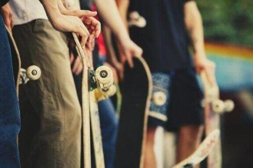 Jazda na deskorolce – same korzyści