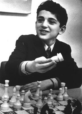 Garii Kasparov rosyjscy sportowcy