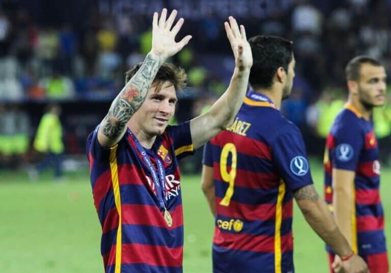 Machający piłkarze